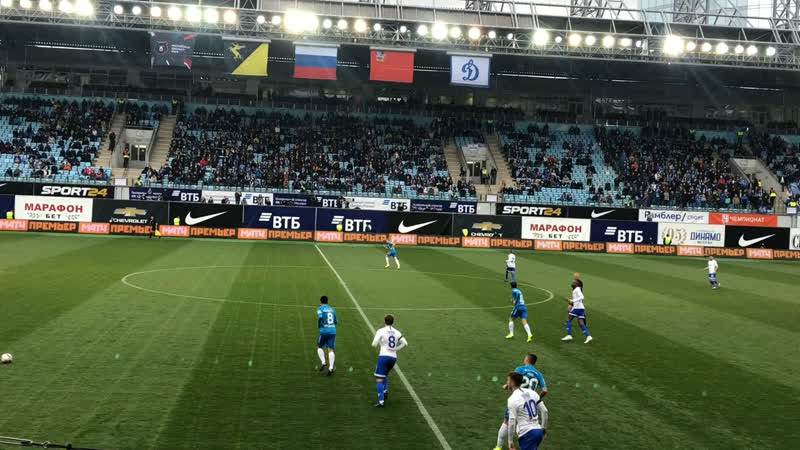 1 тайм матча Динамо-Зенит✌🏻😉💙