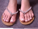 French Tip Toenail At Home