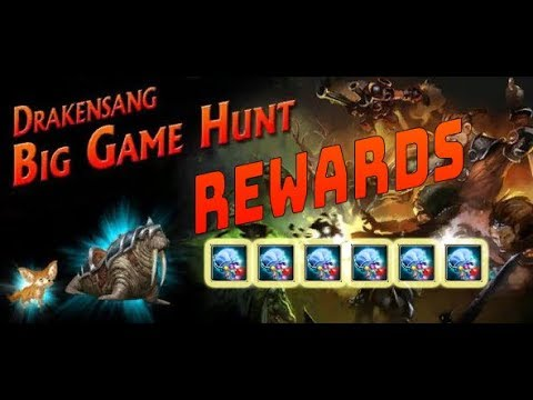 Drakensang Online BIG HUNT REWARDS !