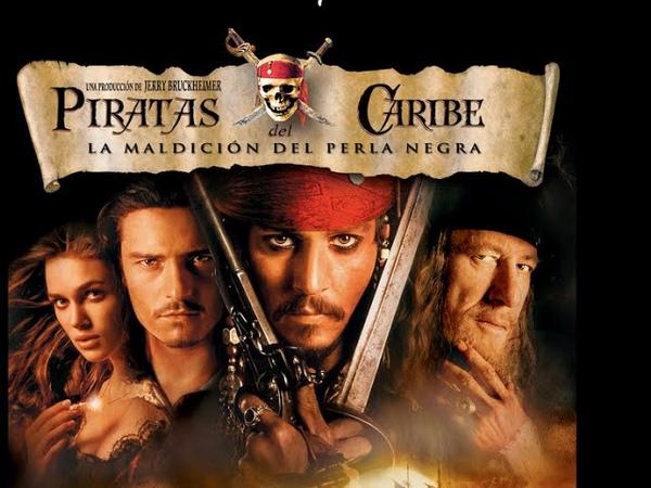 Piratas del Caribe la Maldición del Perla Negra Trailer Latino 2003