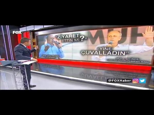 Erdoğan Muharrem İnce atışması tam gaz Derdin Ayet Olsa Bakara Makara Diyeni Kovardın