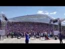 Фанаты Исландии поют MakSim - Знаешь ли ты?