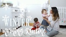WINTER MORNING ROUTINE BABY TODDLER 2018! Solo (not single) Mom | grace for the day