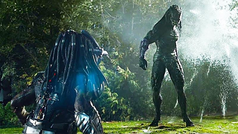 Mega Predator Vs Predator - Fight Scene | The Predator (2018) Movie Clip HD