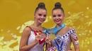 ВМоскве встретили российских гимнасток, которые привезли народину семь золотых медалей. Новости. Первый канал