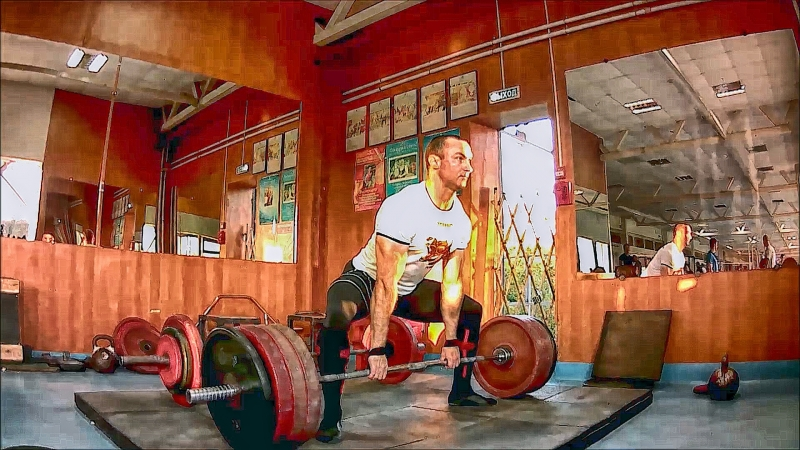 Становая тяга 200 кг 12*2 двенадцатый подход 18 07 2018 года