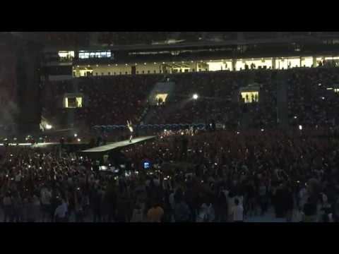 Imagine Dragons Radioactive piano live in Moscow luzhniki stadium 30 08 2018