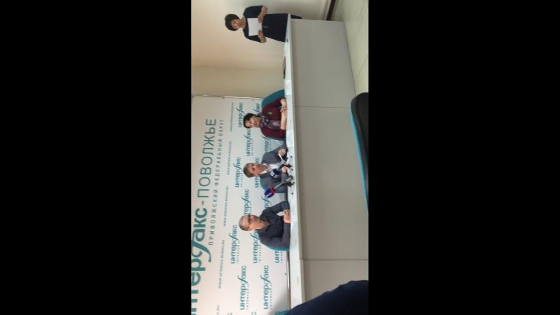 Пресс - конференция ВООП