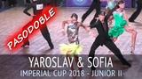 Yaroslav Kiselev & Sofia Philipchuk | Pasodoble | Imperial Cup 2018, Junior II - Semifinal