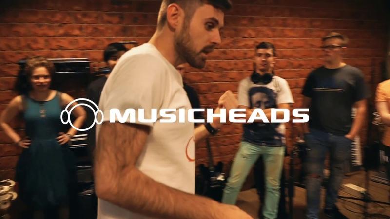 Запись ударной установки_школа Musicheads