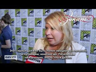 Интервью с Джули Плек #2 (создатель сериалов