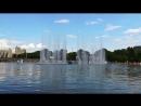 Поющий фонтан в Парке Горького.