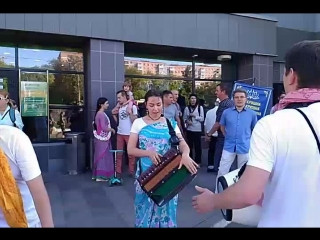Харинама на набережную 11.08.2018 Ижевск
