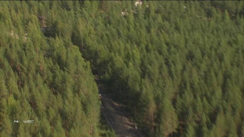 WRC 2018. Round 8. Finland. Day4 Highlights