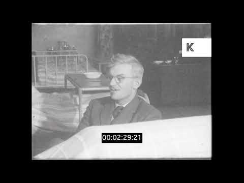 Doctor Patient, 1950s UK Hospital, HD