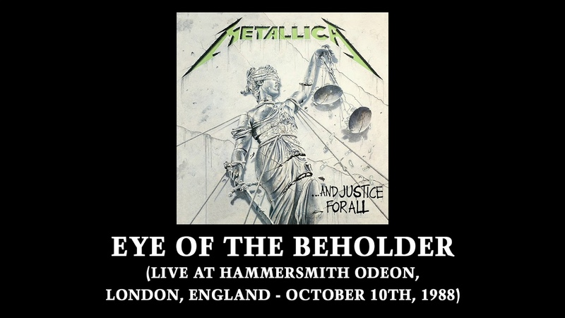 Metallica Eye of the Beholder Live at Hammersmith Odeon London England October 10th 1988