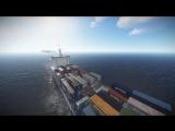 Ивент Грузовой корабль в Rust