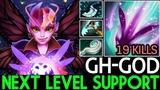GH-GOD [Dark Willow] Next Level Support 19 Kills Insane Game 7.18 Dota 2