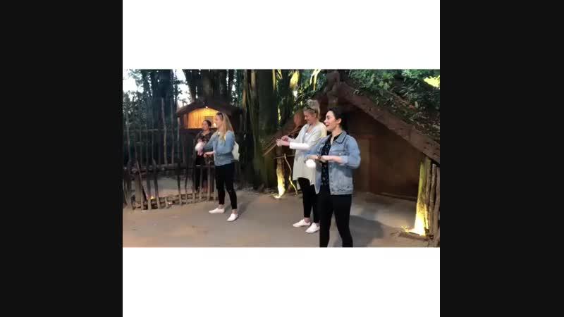 Девочки Звероморферов танцуют Хака