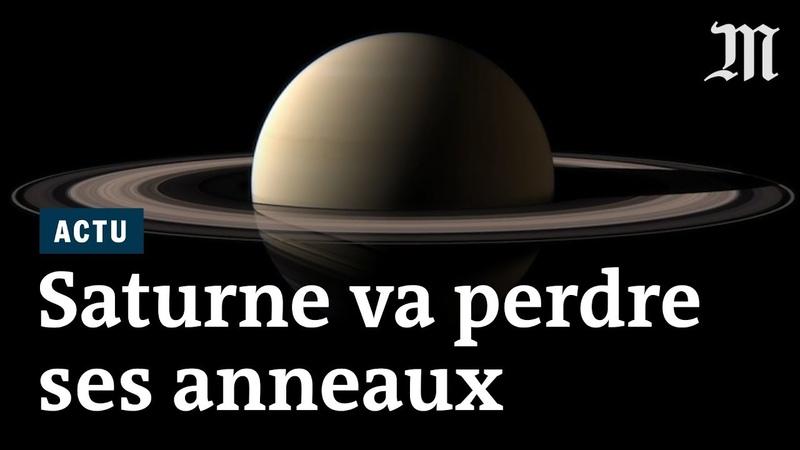 Comment les anneaux de Saturne vont disparaître