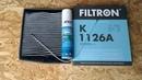 Вольво S60. Чистка кондиционера, замена салонного фильтра.