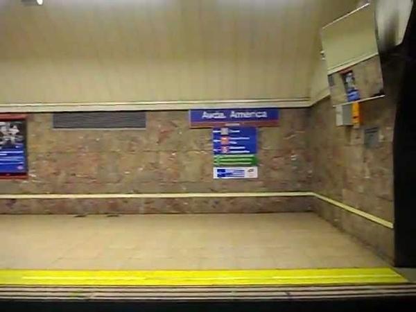 Metro de Madrid - Línea 4 - Avenida de America - Prosperidad