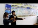Әбенов Қайрат Мүзәпәрұлының тарих тіл әдебиет кабинетінің салтанатты ашылу рәсімі