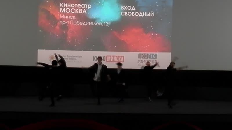 Дни корейского кино в МИНСКЕ/19.10.2018/Танцгруппа К-19