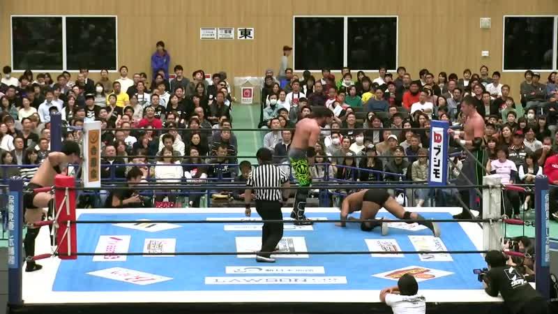 My1 NJPW World Tag League 2018 День 5 Best Friends Beretta Chuckie T vs Ayato Yoshida Shota Umino