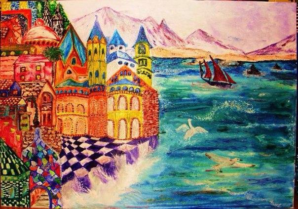 Где находится остров Буян Удивительный это остров – Буян: знакомый каждому с детства и неизведанный на протяжении всей жизни, доступный и понятный, как место действия во множестве литературных и