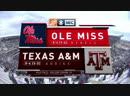 NCAAF 2018 Week 11 Ole Miss Rebels Texas A M Aggies 1H EN