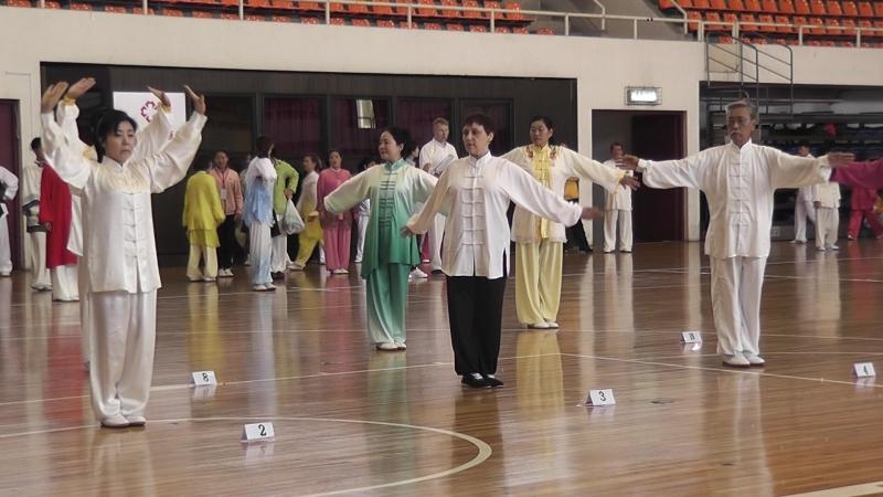 Мое золотое выступление на турнире по оздоровительному цигун в Пекинском Университете Спорта.
