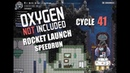 Oxygen Not Included Rocket launch Speedrun QOL Mk3 in 41 cycles Rocket ready at 38th cycle