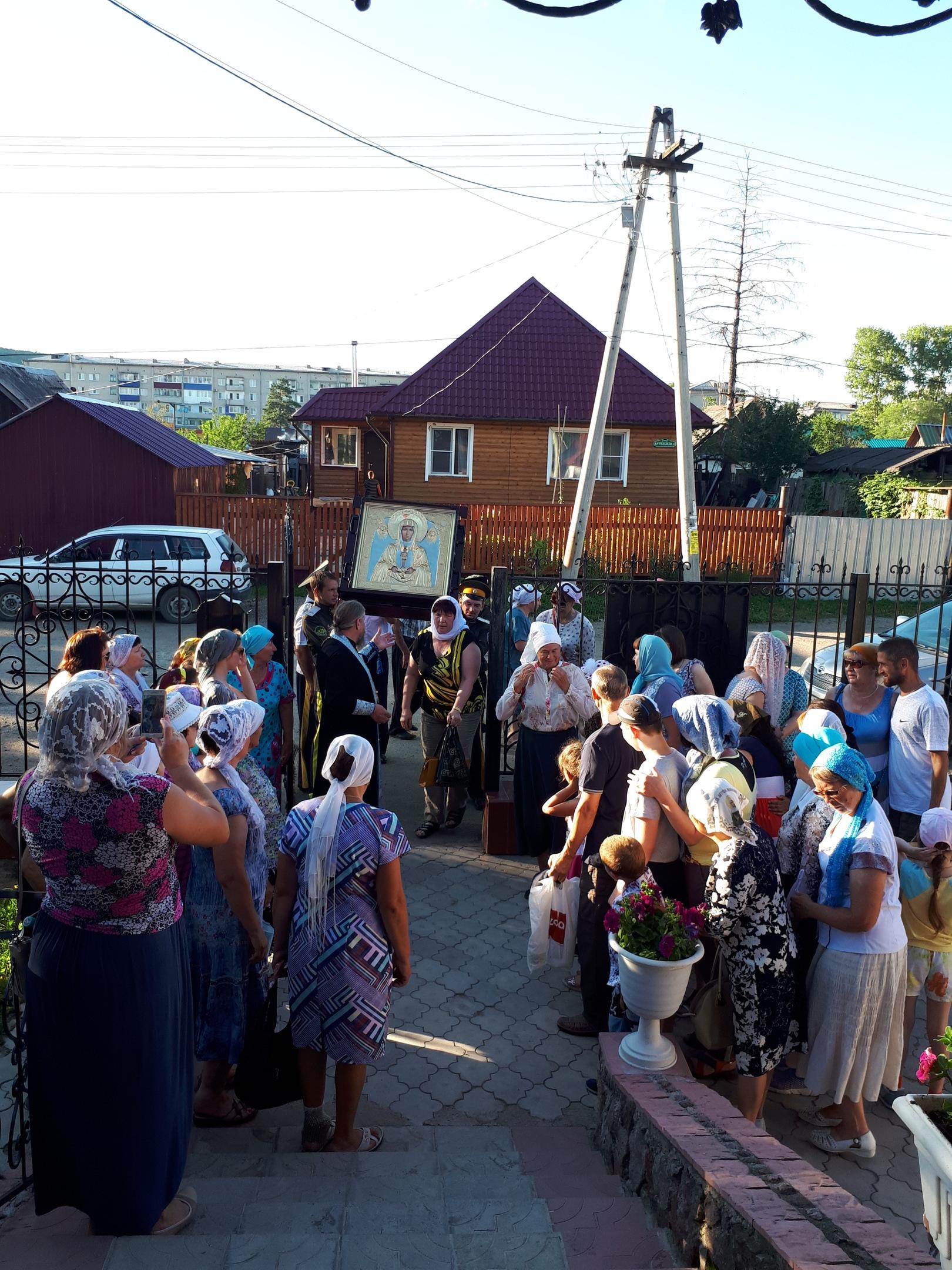 Главная святыня Приамурья продолжает шествие по области