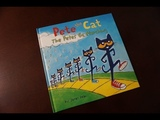 Pete the Cat - The Petes Go Marching Children's Read Aloud Story Book For Kids By James Dean