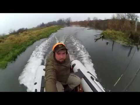 Закриття сезону Рибалка на р Горинь Останній трофеї на джерк