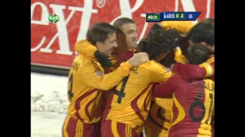 20 Hafta Ankaragucu Galatasaray 0 4