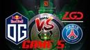 OG vs PSG.LGD ! GAME 5 AMAZING GRAND FINAL DOTA 2 Highlits TI8 TheInternational2018
