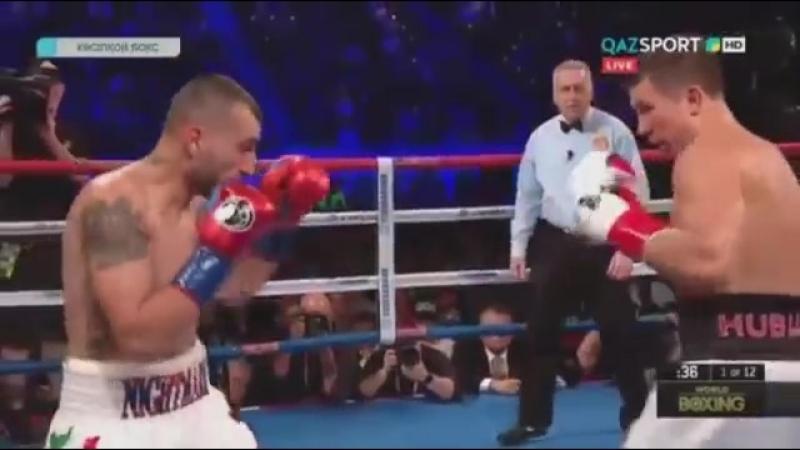 Геннадий Головкин против Ванес Мартиросян полный бой
