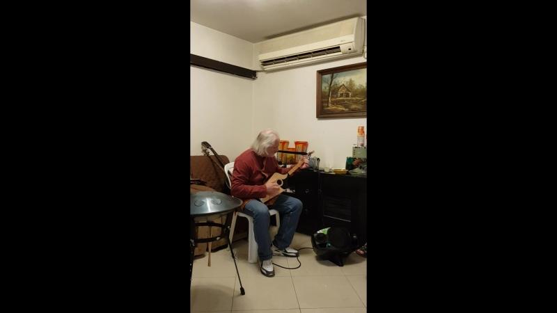 Грузинский пандури. Сефардская мелодия.