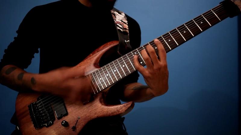 MOBIUS Bursting Chaos playthrough Line6 HELIX DJENT SYMPHONIC Metal prog