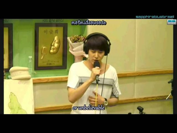 120815 Kyuhyun - Drunken Truth 취중진담 [Lyrics Eng Sub DL link]