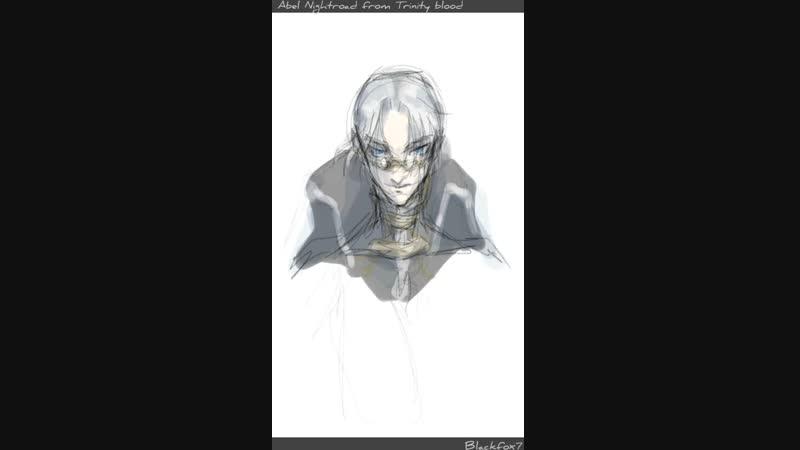 Abel Nightroad from Trinity blood speedpaint