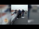 Задержание с козырька балкона 17 этажа