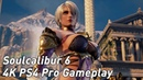 Soulcalibur 6 4K PS4 Pro footage of Geralt, Maxi and others in Soul Calibur 6