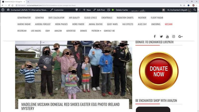 Madeleine McCann In Donegal - Red Shoes Easter Egg Photo Mystery Explained - The Irish Connection