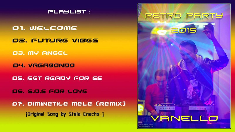 Vanello at Remember Disco Nights Party Nov 2015 , Bucharest