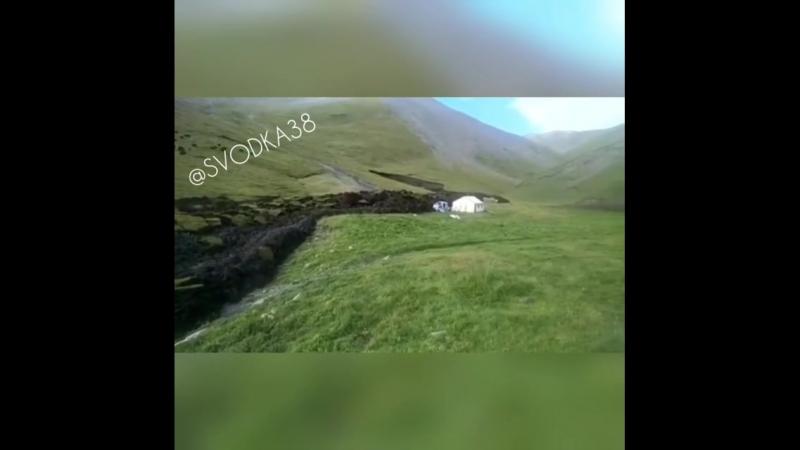 Монголия. Перемещение земной коры