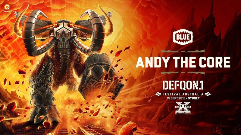 The Colours of Defqon 1 Australia 2018 BLUE Hardcore Mix by Andy the Core