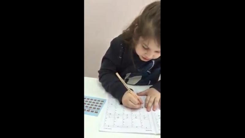 QuantUM. Ментальная арифметика. Соня, 5 лет.